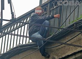 Бебелевский мост, суицид, самоубийство|Фото: Служба спасения СОВА