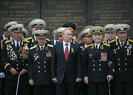Путин, Крым, генералы, ветераны|Фото: img1.liveinternet.ru