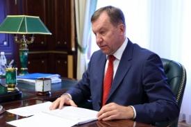министр финансов Челябинской области Андрей Пшеницын|Фото: gubernator74.ru