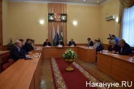 Курган Павел Кожевников совещание|Фото: Накануне.RU