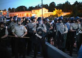 Фергюсон, Миссури, США, погромы, Майдан, бунт, полиция|Фото: AFP