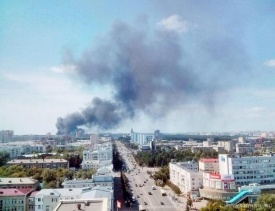 пожар битум дым челябинск|Фото:twitter.com