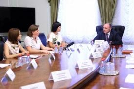 Дубровский встреча с общественниками|Фото: gubernator74.ru