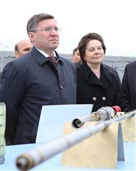 Наталья Комарова, Владимир Якушев, Сургут|Фото: правительство ХМАО