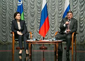 Наталья Комарова, Владимир Якушев|Фото: правительство ХМАО