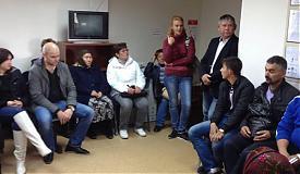 Встреча погорельцев с администрацией Нижневартовска Фото: pbs.twimg.com