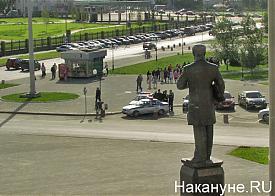 Верхняя Пышма, памятник Владимиру Грум-Гржимайло|Фото: Накануне.RU