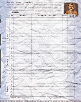 Дневник, Гитлер|Фото: e1.ru