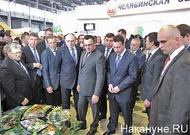 Агропромышленный форум, выставка, Дубровский, Якушев, Холманских, Куйвашев|Фото: Накануне.RU