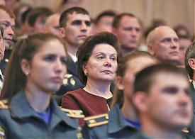 Наталья Комарова, Сургут, день солидарности в борьбе с терроризмом Фото: правительство ХМАО