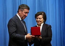 Наталья Комарова, Юрий Шафраник|Фото: правительство ХМАО