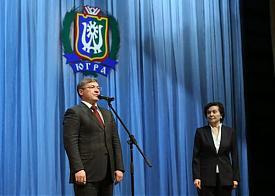 Владимир Якушев, Наталья Комарова|Фото: правительство ХМАО