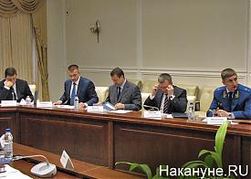 совещание по выборам, Куйвашев, Колиберда, Вяткин, Бородин, Филипенко|Фото: Накануне.RU