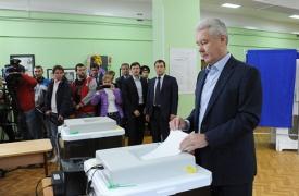 Собянин голосование|Фото: mos.ru