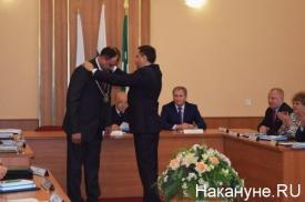 Павел Кожевников Сергей Руденко инаугурация|Фото: Накануне.RU