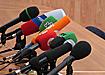 сми пресса телевидение пресс-конференция микрофон|Фото: Накануне.ru