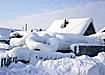 зима снег сугроб деревня|Фото: www.admhmao.ru
