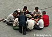 мигрант гастарбайтер нелегал таджики строительство Фото: Накануне.ru