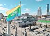 Екатеринбург, улица Ленина, флаг Свердловской области, Е100 (2019) | Фото: Накануне.RU