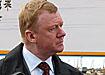 Изображение Анатолия Чубайса в технологии FIB золотом по кремнию|Фото: a-chubais.livejournal.com