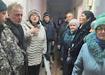 Сход жителей по поводу мусорного полигона в поселке Малышева (2020) | Фото: Наталья Крылова