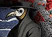 Чумной доктор и коронавирус. (2020) | Фото: Википедия