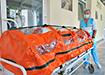 Бокс для перевозки COVID-больных в ГКБ №40 (2020) | Фото: Накануне.RU