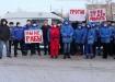 протест медиков скорой, аутсорсинг, водители (2020) | Фото: Тагил за перемены