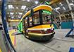 """Ретро-трамвай """"Уралтрансмаша"""" (2020)   Фото: instagram.com/evgenykuyvashev"""