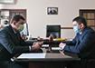 Евгений Куйвашев, Алексей Шмыков (2021) | Фото: Департамент информационной политики Свердловской области