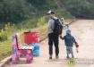 скамейка, благоустройство, семья, отец (2021) | Фото: Екатеринбург.рф, Федор Серков