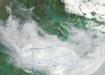 Лесные пожары в Якутии на снимке со спутника. (2021) | Фото: Роскосмос / РКС