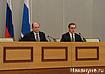 губернатор Свердловской области Александр Мишарин пресс-секретарь Алексей Сотсков Фото:Накануне.RU