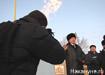 Губернатор Свердловской области Александр Мишарин зажжение факела Билимбай|Фото:Накануне.RU