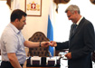 Евгений Куйвашев Сергей Носов|Фото: департамент информационной политики губернатора
