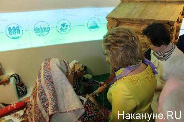 Дни ХМАО в Совете Федерации, Комарова, Матвиенко|Фото: Накануне.RU