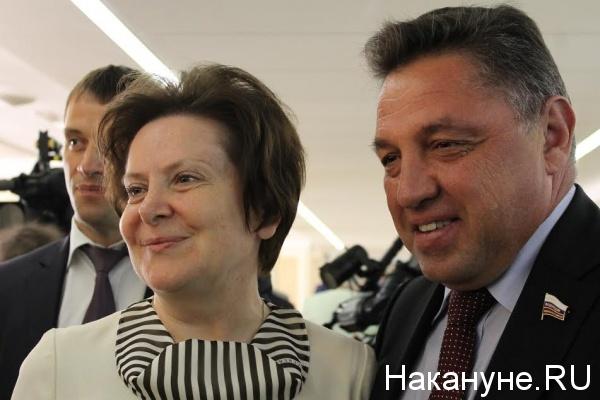 Дни ХМАО в Совете Федерации, Комарова, Тимченко|Фото: Накануне.RU