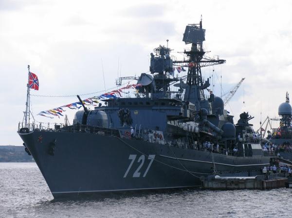 корабль Ярослав Мудрый, ВМФ России|Фото:ru.wikipedia.org