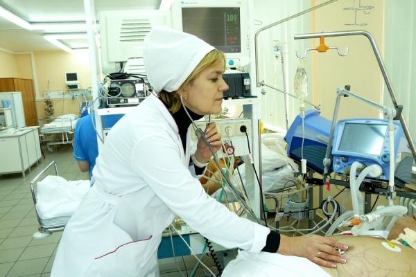 Завотделением неотложной кардиологии ОКБ №1 Юлия Шилко|Фото: Департамент информационной политики губернатора