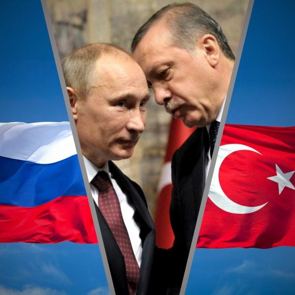 Путин и Эрдоган, Турция и Россия|Фото:politikus.ru