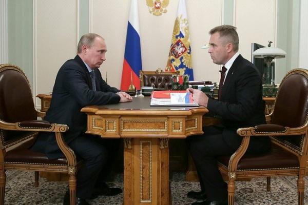 Путин, Астахов|Фото: kremlin.ru