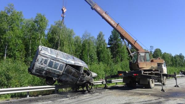 ДТП трасса Ивдель – ХМАО|Фото: МВД Свердловской области