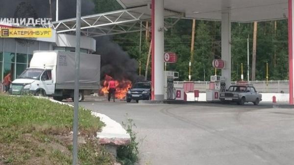 "заправка, пожар, ""Лукойл""|Фото:https://new.vk.com/incekb"