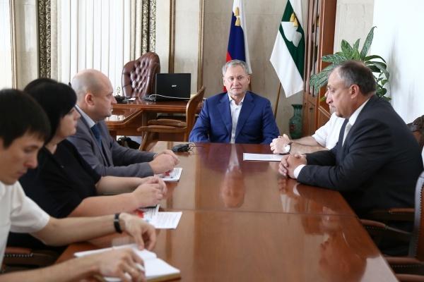 совещание у губернатора|Фото:пресс-служба губернатора Курганской области