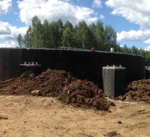 Строительство очистных сооружений в Верхней Пышме|Фото: midural.ru