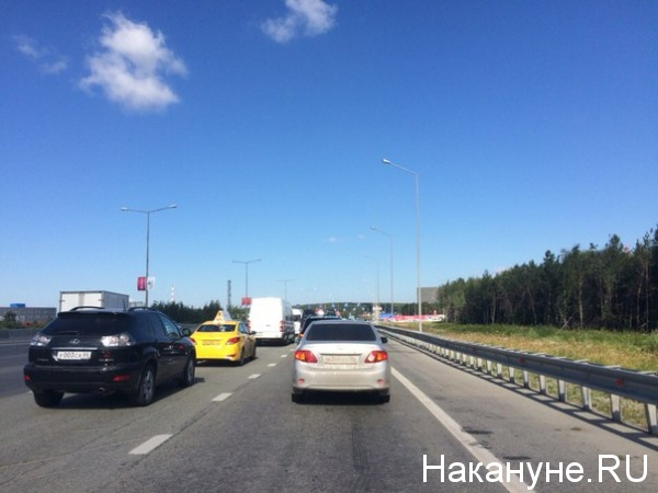Иннопром автомобили пробка|Фото: Накануне.RU