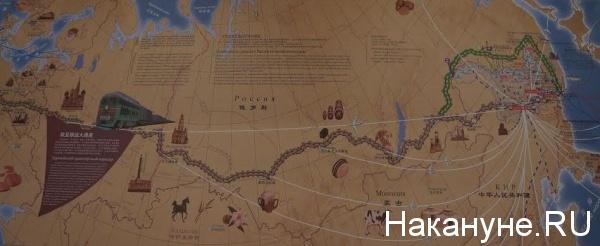Новый шелковый путь, экономический пояс, Китай, РФ, Россия, КНР|Фото: Накануне.RU