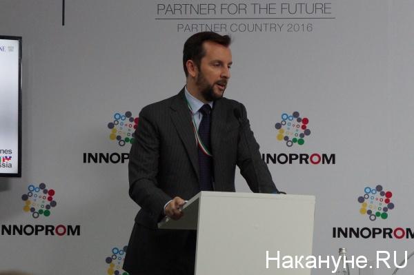 торгово-экономический советник при посольстве Италии Николо Фонтана|Фото: Накануне.RU