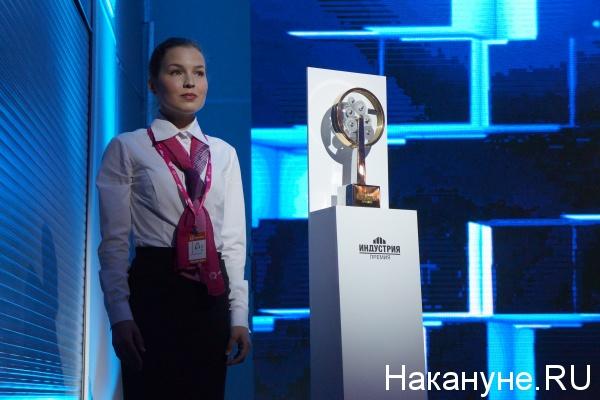 Медведев, Иннопром-2016, премия Индустрия|Фото: Накануне.RU