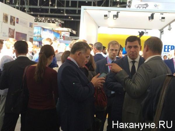 Владимир Тунгусов Евгений Куйвашев Иннопром|Фото: Накануне.RU